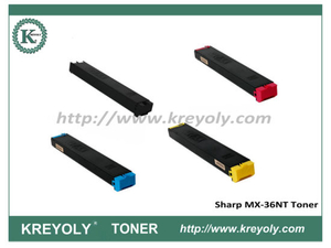 Tóner de color MX-36 para Sharp MX2610 / MX3110 / MX3610 / MX2640N / MX3140N / MX3640N