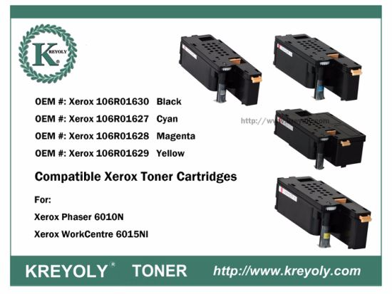 Cartucho de tóner compatible Xerox Phaser 6010n Workcentre 6015n