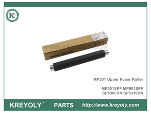 MP601SPF SP5300DN SP5310DN MP501SPF Rodillo del fusor superior