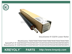 Rodillo de presión Xerox DocuCentre IV C2270 C3370 C3371 C3375 C4470 C5570 C5575 Rodillo inferior WorkCentre 7525 7530 7535 7545