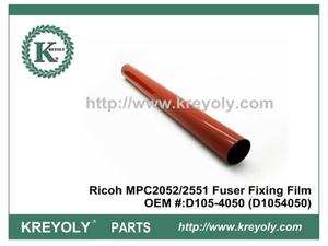 Alta calidad japonesa Ricoh MPC2052 / 2551 Fuser Fixing Film